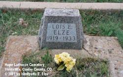 Lois Elizabeth Elze