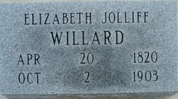 Elizabeth Betsy <i>Jolliff</i> Willard