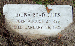 Louisa Read Giles