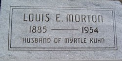 Louis E Morton