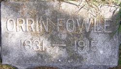 Orrin Fowle