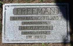 Ida <i>Lawson</i> Freeman