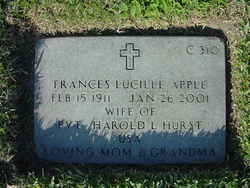 Frances Lucille <i>Apple</i> Hurst