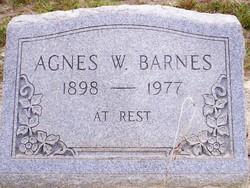 Agnes <i>W</i> Barnes