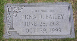 Edna Russell <i>Roberts</i> Bailey