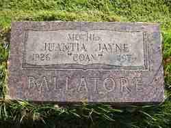 Juanita Jayne <i>Coan</i> Ballatore