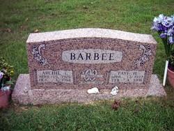 Archie Talmadge Barbee