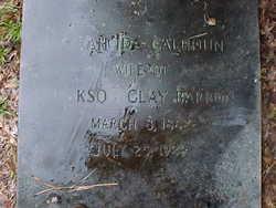 Sarah Ida <i>Calhoun</i> Barron