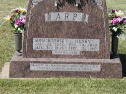 Anna <i>Rohwer</i> Arp