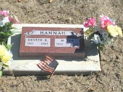 Deveer R. Hannah