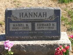 Mabel <i>Burge</i> Hannah