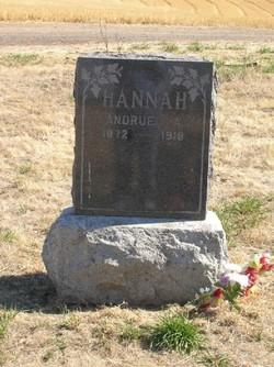 Andrue Arthur Pete Hannah