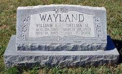 Thelma M Wayland