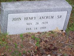 John Henry Ancrum, Sr