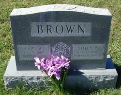 Stella P <i>May</i> Brown