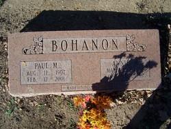 Paul M Bohanon