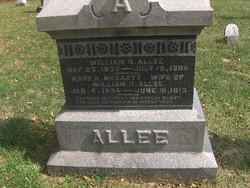 Mary A. <i>McCarty</i> Allee