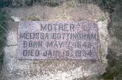 Melissa Rowena <i>Mohler</i> Cottingham
