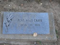 Fern M. <i>Haun</i> Crane