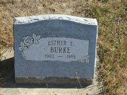 Esther E. Burke