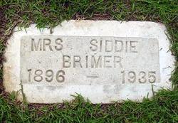 Sidda Siddie <i>Collins</i> Brimer