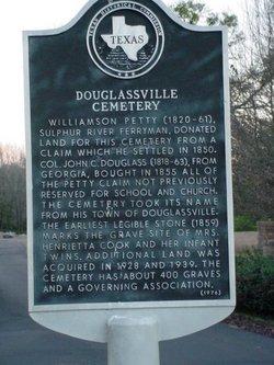 Douglassville Cemetery