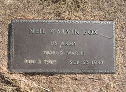 Neil Calvin Fox