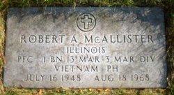 PFC Robert Allen Bob McAllister