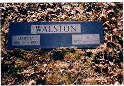 Gilliam W. George Washington Walston