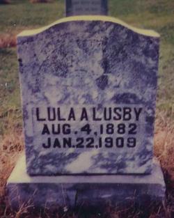 Lula A. <i>Grimes</i> Lusby