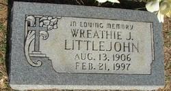 Wreathie J. Littlejohn