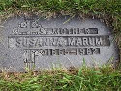 Susanna Andersdatter <i>Overby</i> Marum