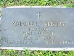 Charles F Albury
