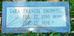 Sara Francis <i>Caldwell</i> Bryan
