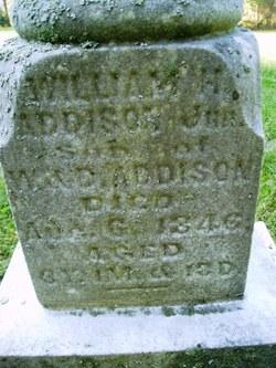 William H Addison, Jr