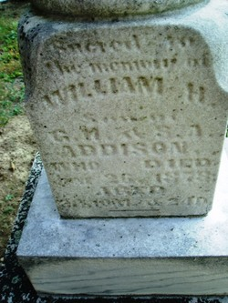 William H Addison