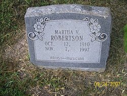 Martha V Robertson