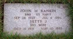 Betty Jean <i>Sundeleaf</i> Rankin