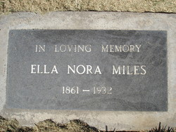 Ella Nora Miles