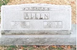 Dora B. <i>Weeks</i> Allen