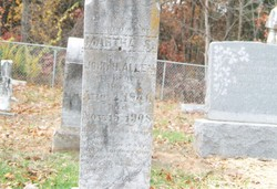 Martha S. <i>Brown</i> Allen