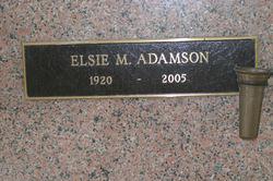 Elsie M. Adamson