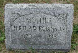 Bertha Waring <i>Van Artsdalen</i> Robinson