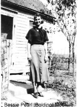 Bessie Pearl <i>Bolding</i> Dages
