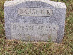 H. Pearl Adams