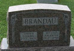 Amanda <i>Laun</i> Brandau