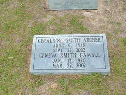 Geraldine <i>Smith</i> Archer