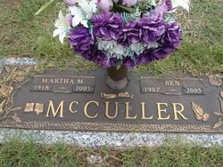 Martha M. Marthie <i>Heady</i> McCuller