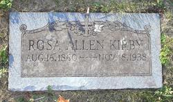 Rosa Lee <i>Allen</i> Kirby