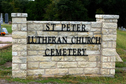 Saint Peter Lutheran Church Cemetery